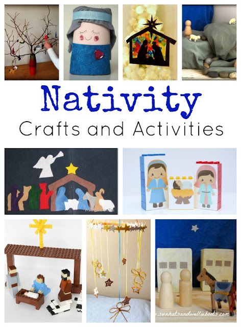 list of nativity crafts and activities