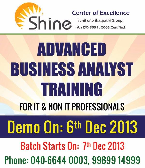Business Analyst Training In Hyderabad