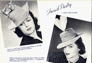 Vintage Crochet Tall Brimmed Hat Pattern