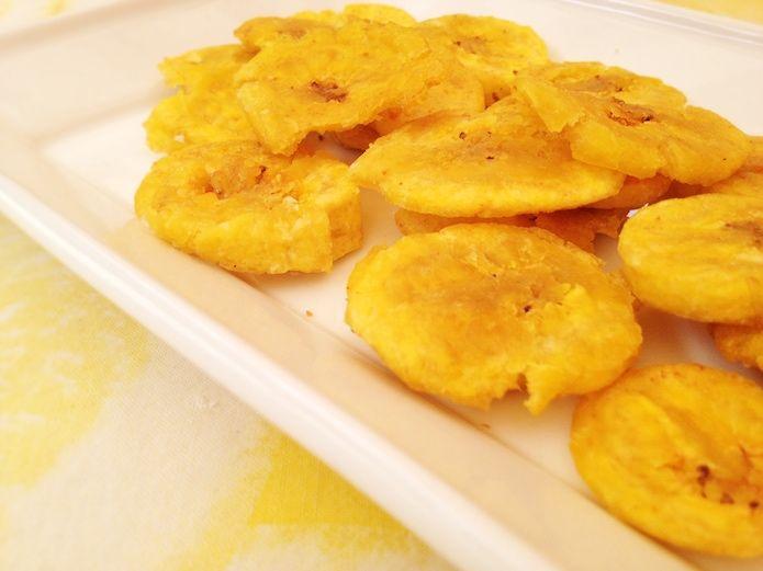 Receta de patacones o plátanos fritos