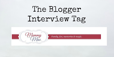 The Blogger Interview Tag