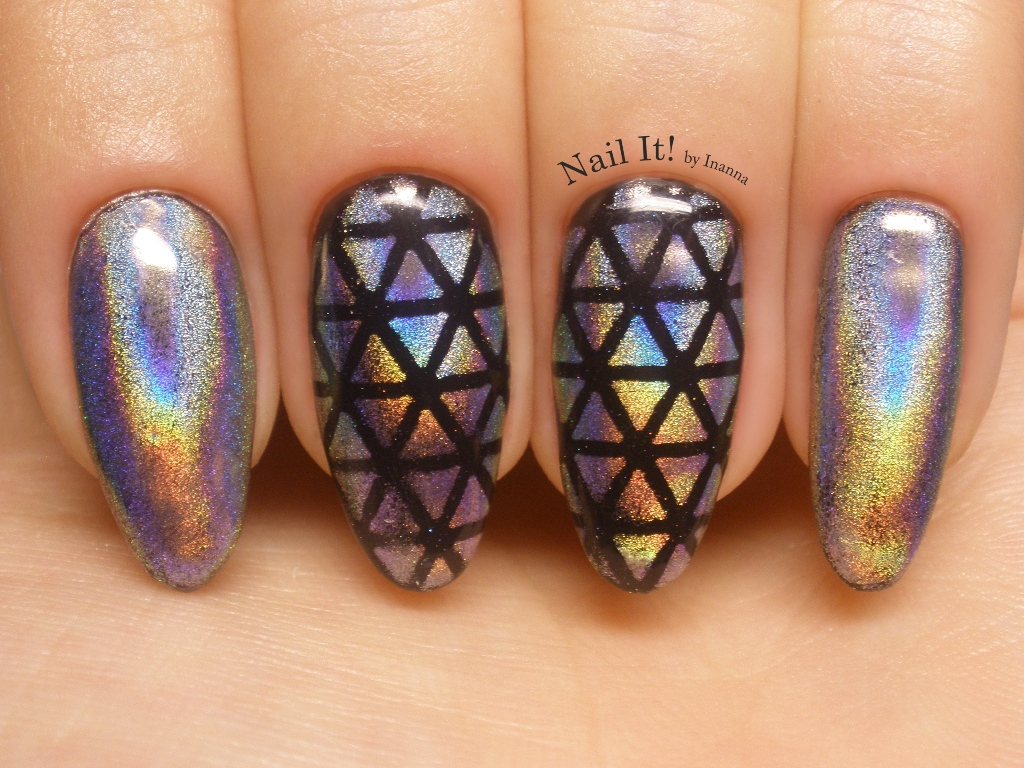 Holo Powders - COMPARISON & NAIL ART