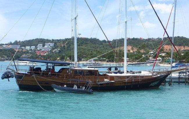 Большой корабль для путешествий