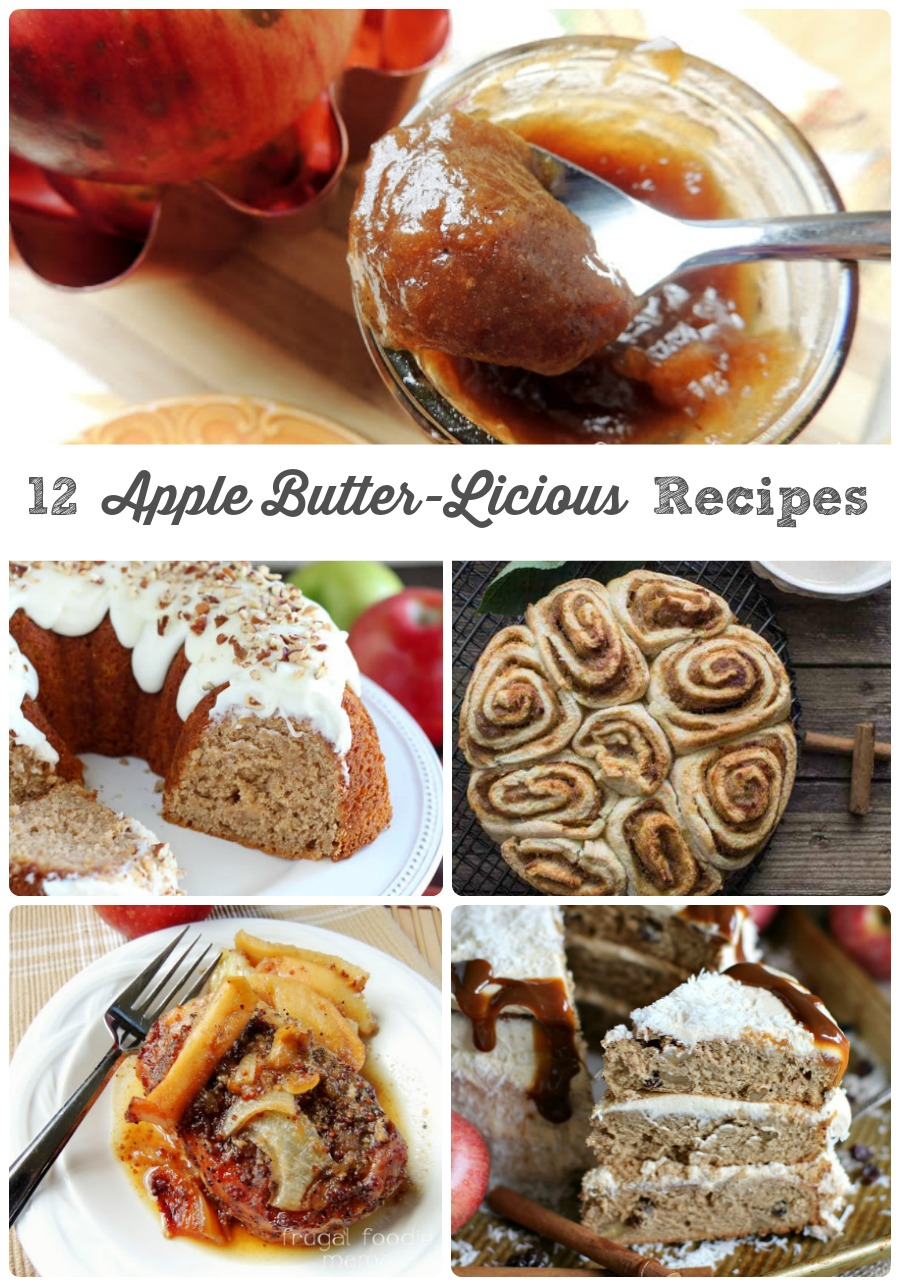 Frugal Foodie Mama 12 Apple Butter Licious Recipes