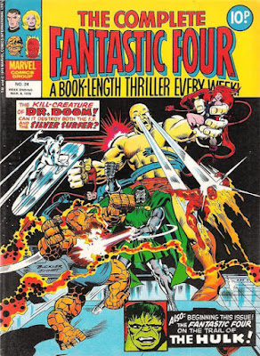 The Complete Fantastic Four #24, Dr Doom