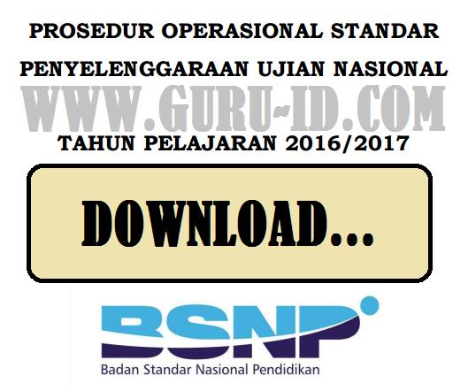 Pos Un 2017 Untuk Smp Ma Sma Smk Revisi Terbaru Bsnp Ilmu Semesta
