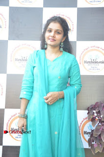Tamil Actress Preethi Stills in Green Salwar Kameez at Kuzhalosai 2nd Anniversary Fund Raising Event  0016.jpg
