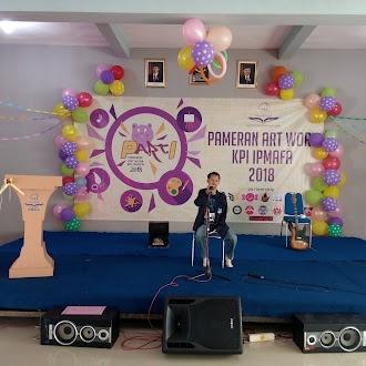Meriahnya Pameran Art Work Prodi KPI IPMAFA 2018