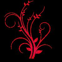 Arabesco vermelho