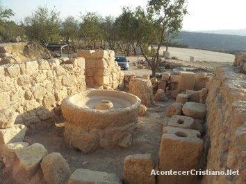 Restos arqueológicos de la ciudad de Silo