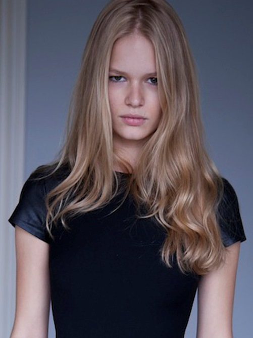 Anna Ewers By Karl Lagerfeld For: New Faces In Fashion: Anna Luisa Ewers