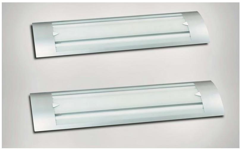 Iluminaci n y l mparas en madrid ventajas de la - Lampara fluorescente cocina ...