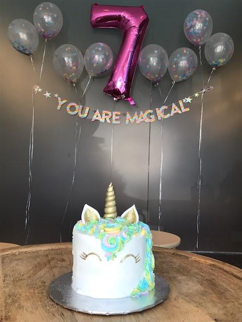 Sophias Magical Unicorn 7th Birthday Party Marcherose