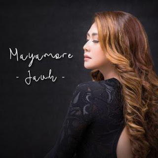 Lagu ini masih berupa single yang didistribusikan oleh label Musicblastid Lirik Lagu Mayamore - Jauh