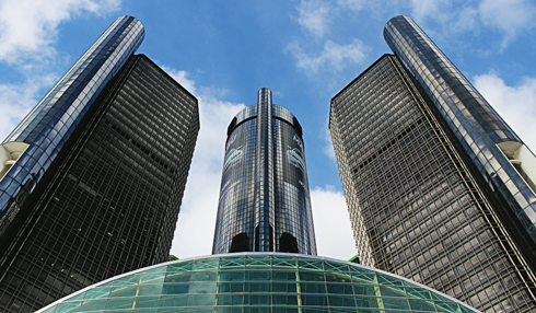 gm renaissance center detroit michigan