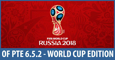 PES 2017 PTE Patch 2017 Unofficial 6.5.2 Option File World Cup 2018