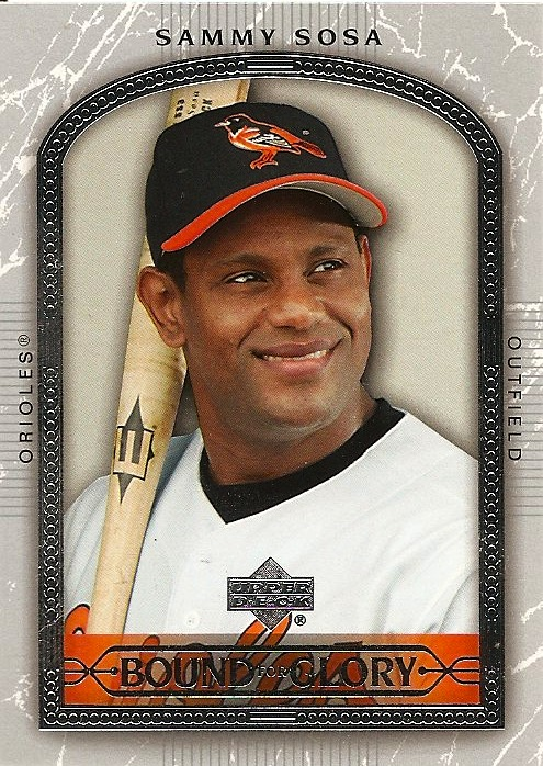 Orioles Card O The Day Sammy Sosa 2005 Upper Deck 468