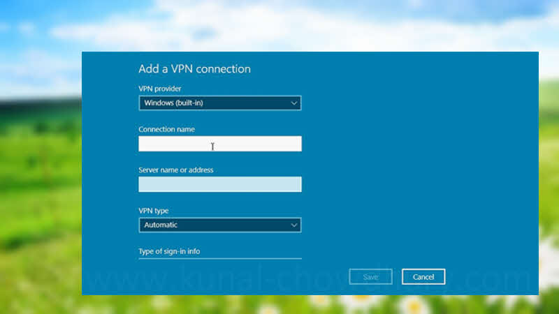 How to set up and run a VPN on a Windows 10 PC?