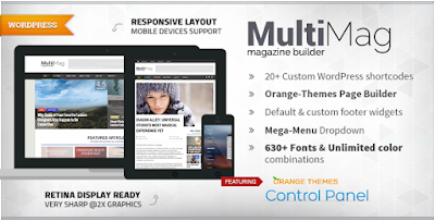 MultiMag v1.0.9 – Multipurpose Magazine Theme