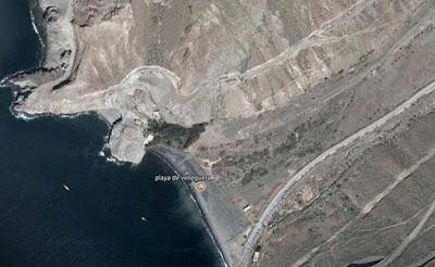 Muere una mujer  practicando buceo en playa Veneguera, Mogán, Gran Canaria