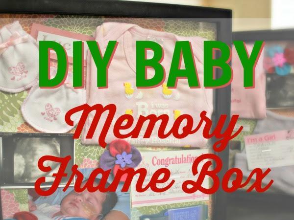 DIY Baby Memory Frame Box