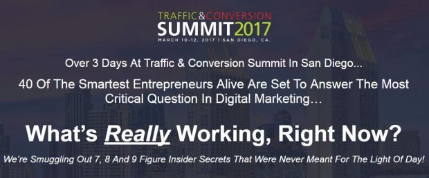 2017 TRAFFIC & CONVERSION SUMMIT NOTES 2017