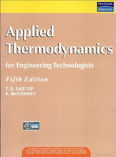 Applied thermodynamics T D Eastop and A McConkey pdf: free