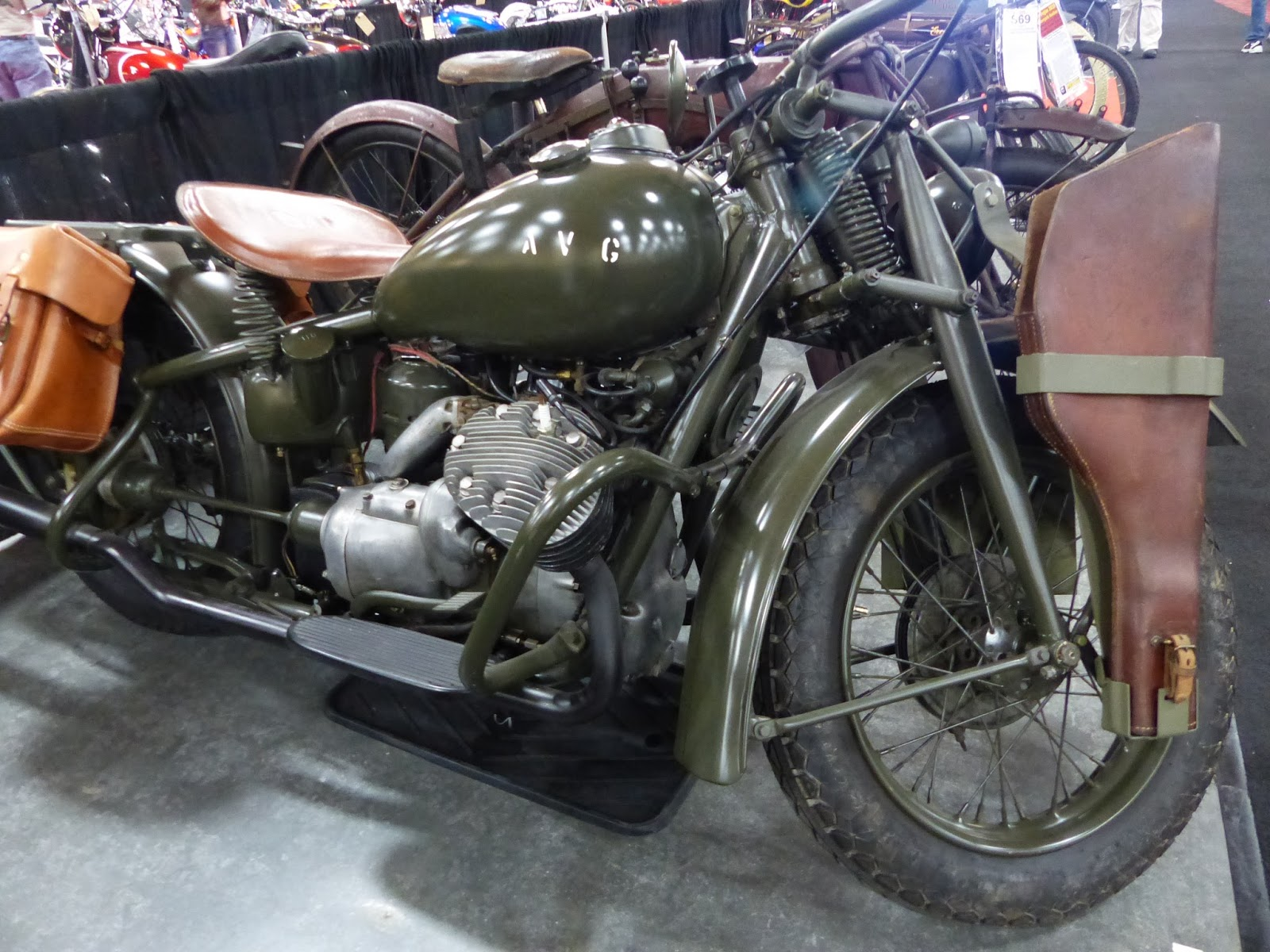 Oldmotodude 1941 Indian 841 Sold For