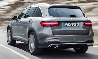 New 2016 Mercedes-Benz GLC rear look