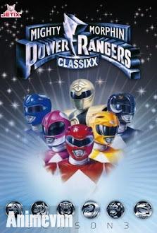 6 Anh Em Siêu Nhân 1993 - Mighty Morphin Power Rangers (Season 2) 1993 Poster
