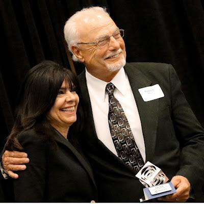 Bob Wilson and Chancellor Maria Harper-Marinick
