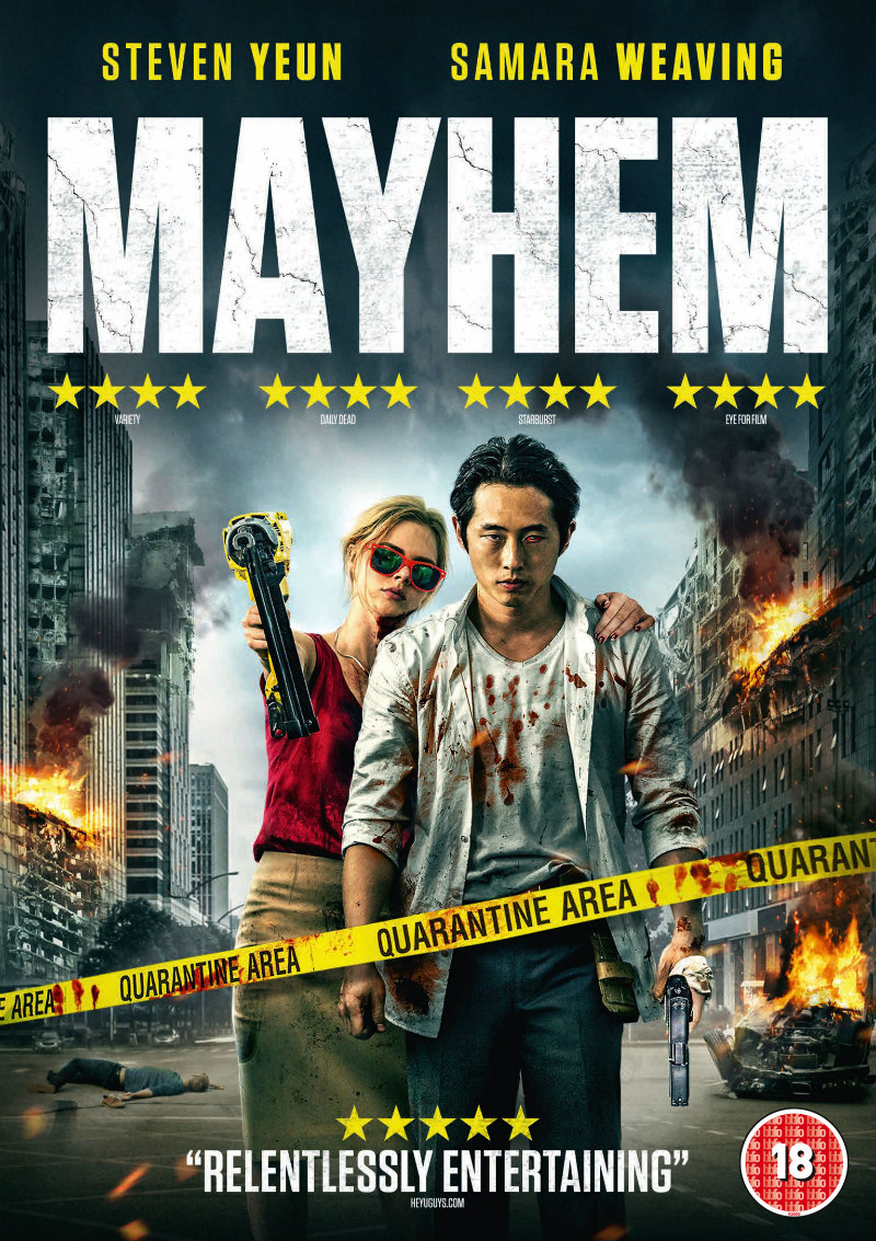 mayhem movie dvd