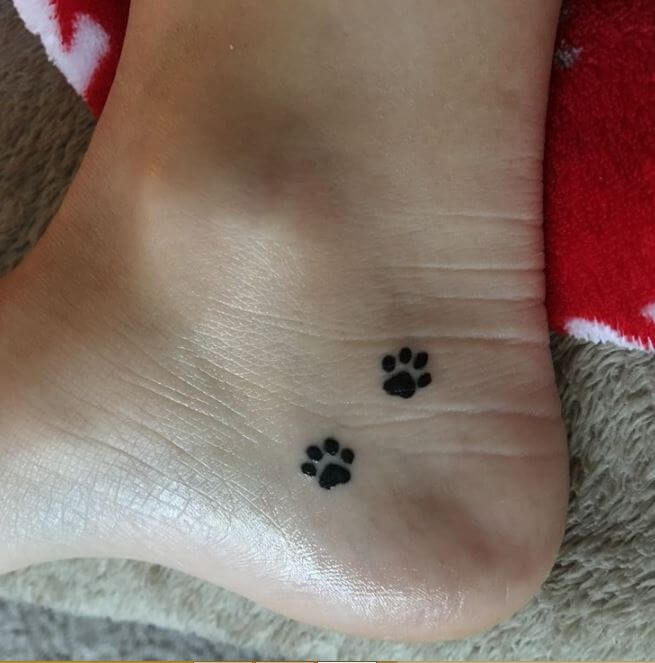Cat Tattoos Every Cat Tattoo Design Placement And Style: 50+ Animal Paw Print Tattoos Designs & Meanings (2019
