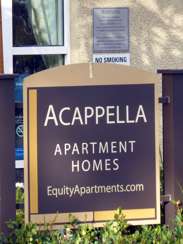 Musical terms in the marketplace - Acappella Apartments