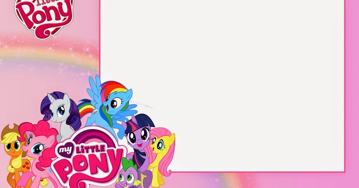 my little pony party free printable