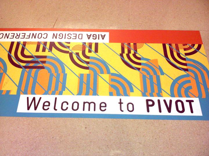 Sohl Design Pivot AIGA Design Conference, Phoenix, Arizona - american institute of graphic arts
