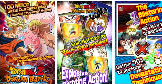 Dragon Ball Z Dokkan Battle Mod Apk v3.3.1 (Damage Increased)