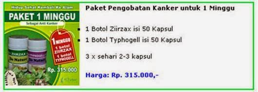 paket obat kanker 1 minggu 1 botol ziirzax ekstrak daun sirsak dan 1 botol typhogell ekstrak keladi tikus paket pengobatan kanker untuk satu minggu dari de nature indonesia