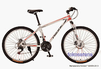 26 Inch Pacific Vigilon 21 Speed Shimano Mountain Bike