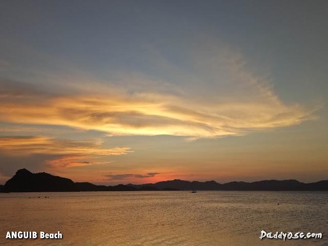 beautiful sunset at Anguib Beach, Sta. Ana Cagayan