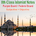 8th Class Islamiat PDF Notes Download
