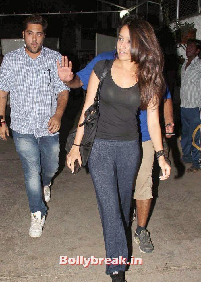 Shraddha Kapoor, Shraddha Kapoor Without Makeup Pics at Airport