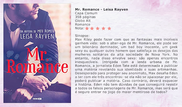 Mr. Romance - Masters of Love #01 - Leisa Rayven
