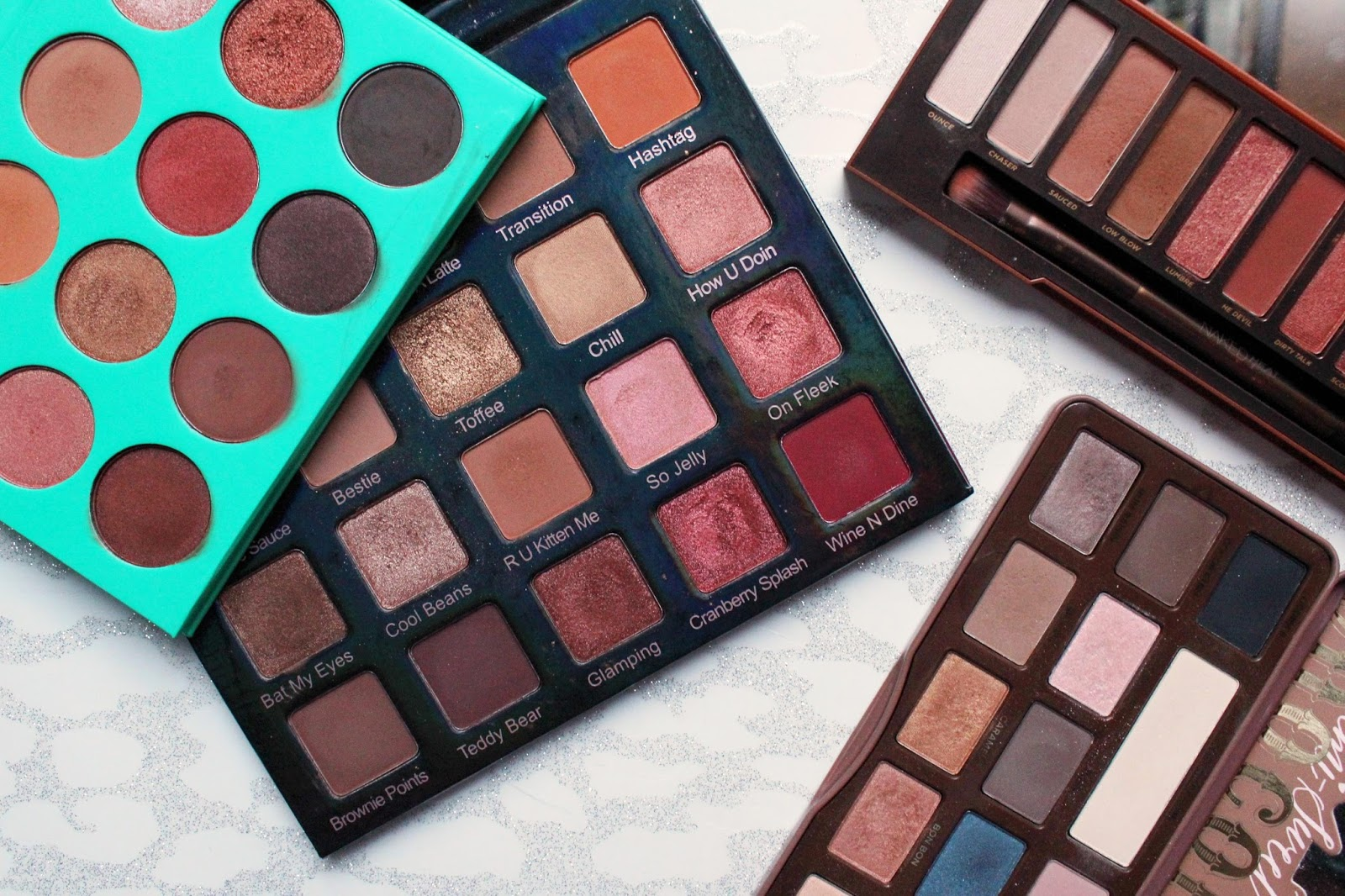 Favourite Warm Eyeshadow Palettes