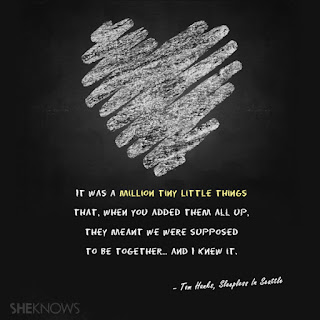 million tiny little things that make us together love quotes