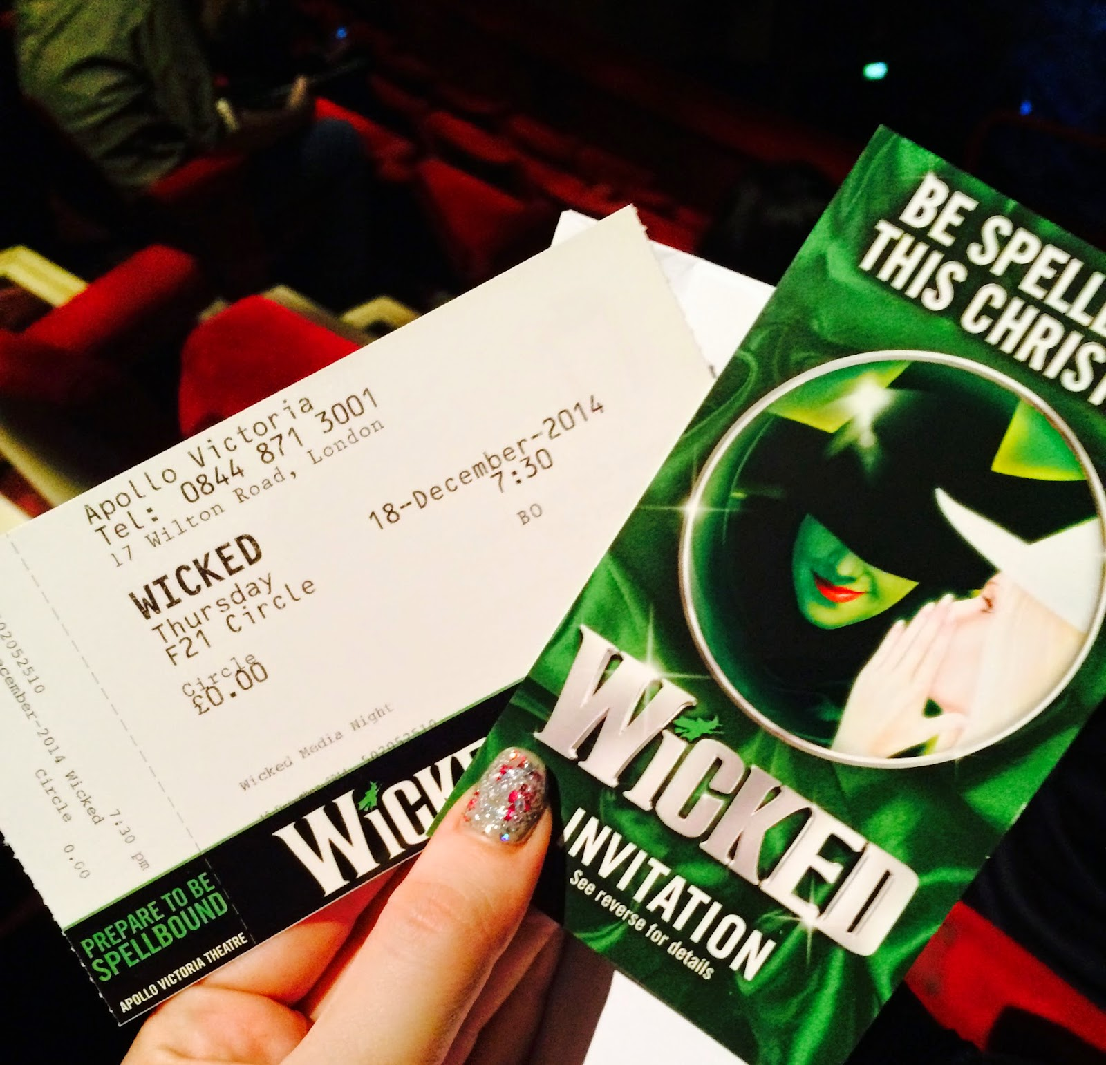 Wicked Musical Tickets London