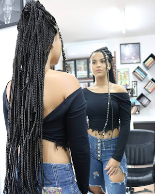 26+ Stylish Small Box Braids styles Ideas That Will Inspire Everyone