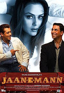 Poster of Jaan-E-Mann 2006 Hindi 720p HDRip Full Movie Download