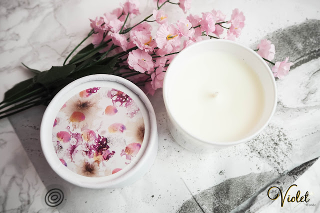 Malee polyanthes soybean candle review