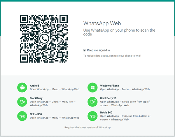 WhatsApp Web Authentication